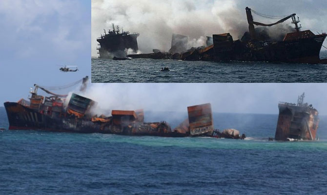 X-Press Pearl accident might become worst environmental disaster for